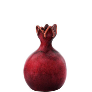 Handcrafted ceramic pomegranate