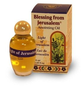 Why we Should Always Cover Ourselves With Anointing oil From Israel
