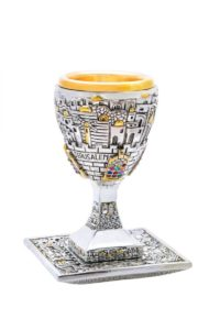 How to Bless Your Seder With Kiddush cup During Jewish Holidays