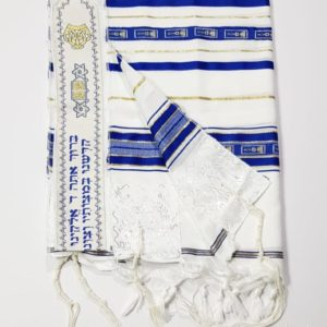 Jerusalem Grafted in Tallit, Acrylic