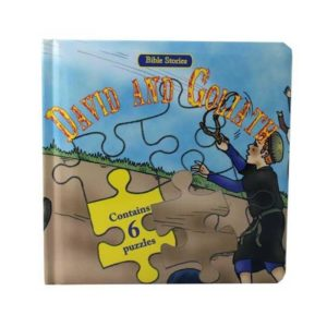 David And Goliath Puzzle Book