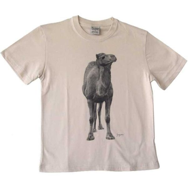 Camel front and back T-Shirt