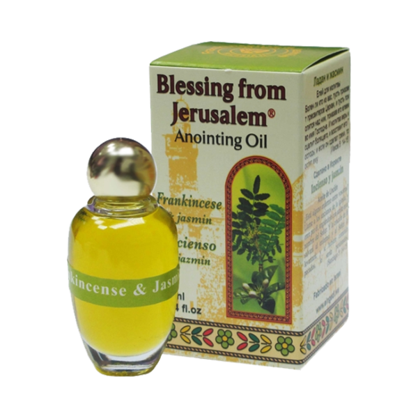 Anointing Oil Frankincense and Jasmine. 10 ml
