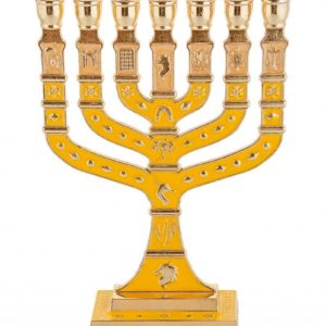 Twelve Tribes Menorah
