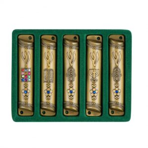 Mezuzah Case, Set of 5