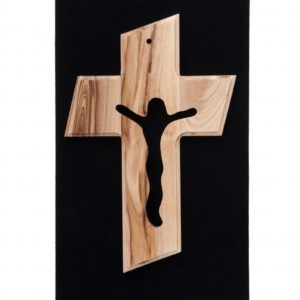 Medium Sized Olive Wood Cross