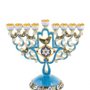 Star Of David Chanukkiah
