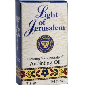 Light of Jerusalem- Anointing Oil 7.5 ml.