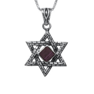 The Nano-Bible Star of David
