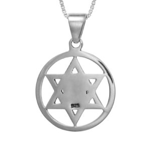 The Star of David Nano-Bible Pendant