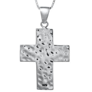 The Roman Cross with Nano-Bible Pendant