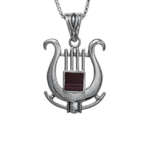 The Harp of David Nano-Bible Pendant