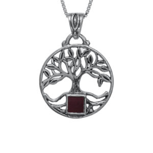 The Tree of Life Nano-Bible Pendant