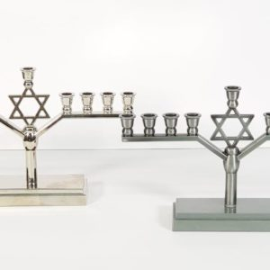 Star of David Hanukkiah