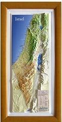 3D Map Of Israel Magnet