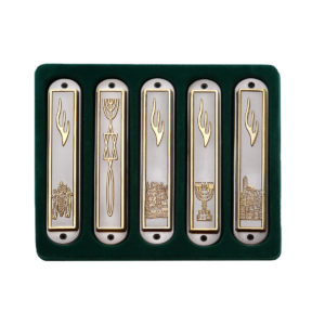 Set of 5 Mezuzah cases