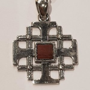 The Nano-Bible Jerusalem Cross