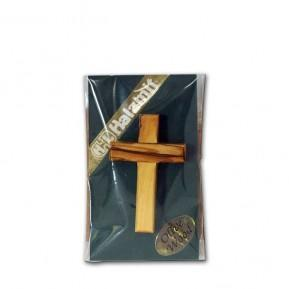 Small Olive Wood Cross