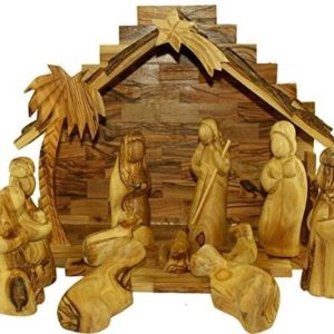 Bethlehem Handcrafted Olive Wood Christmas Nativity