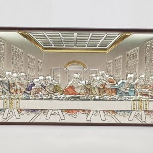 The Last Supper Engraving, Silver Plated