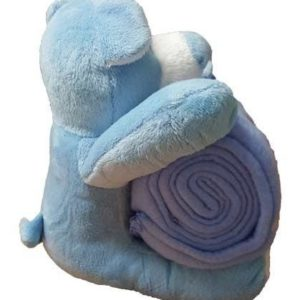 Soft Blue Teddy Bear