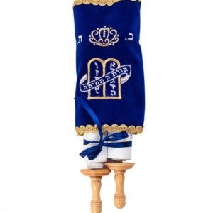 Velvet cover Ashkenazi Torah scroll