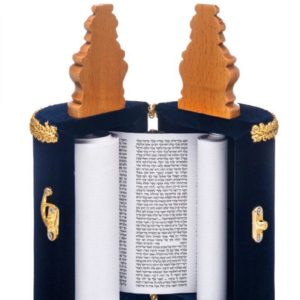 Small Sephardic Torah scroll