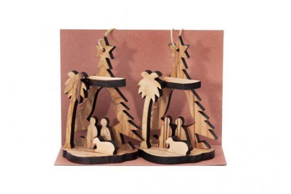 Nativity Scenes (pair)