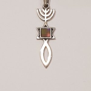 The Nano-Bible Grafted-In Pendant with the whole Bible