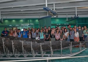 Our Friends from Behold Israel Visited Galilee Boat Site