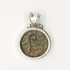 Sterling Silver Pendant with Pontius Pilate coin
