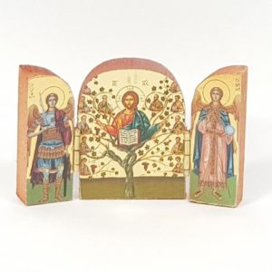 Triptych icons from Holy Land