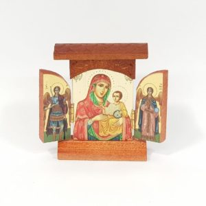 Triptych Icons with Roof