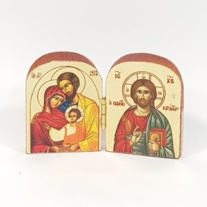 Diptych Icons from the Holy Land