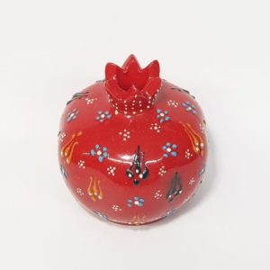 Hand-made Ceramic Pomegranate from the Holy Land