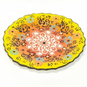 Hand-made Middle-Eastern style Ceramic Plate