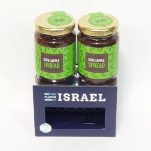 Date and Apple Spread from the Holy Land, set of two