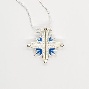 Sterling Silver Star of Bethlehem