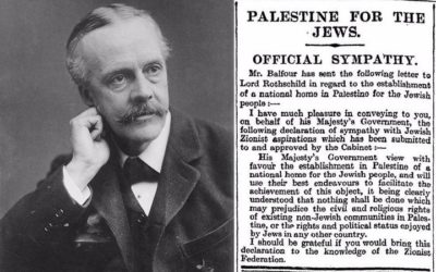 The Balfour Declaration of 1917